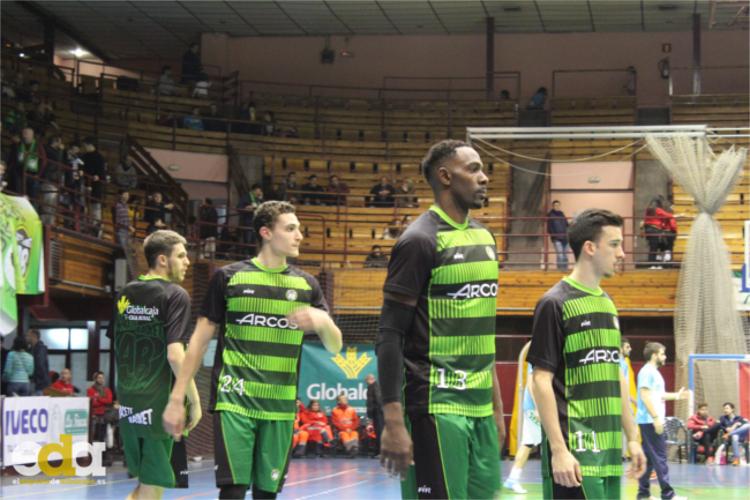 Álvaró Picazo en su debut con Albacete Basket en LEB Plata