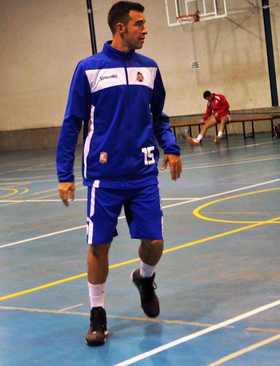 Miguel Raez con CB Almansa