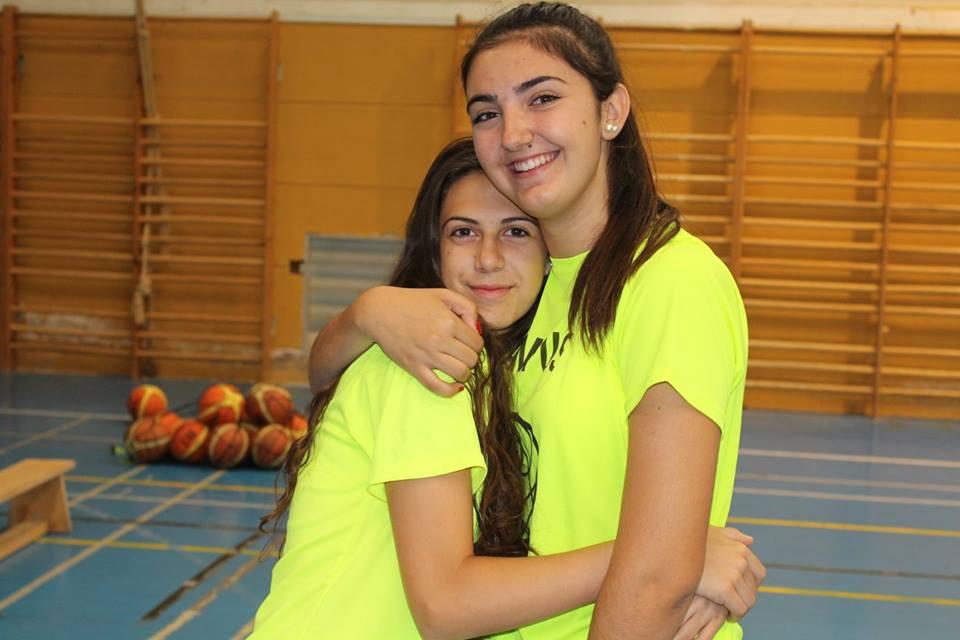 Erica y Lucía durante el Campus 2017