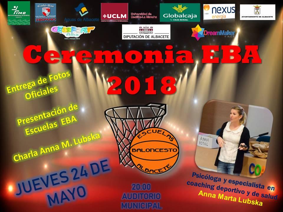 ceremonia EBA 2018